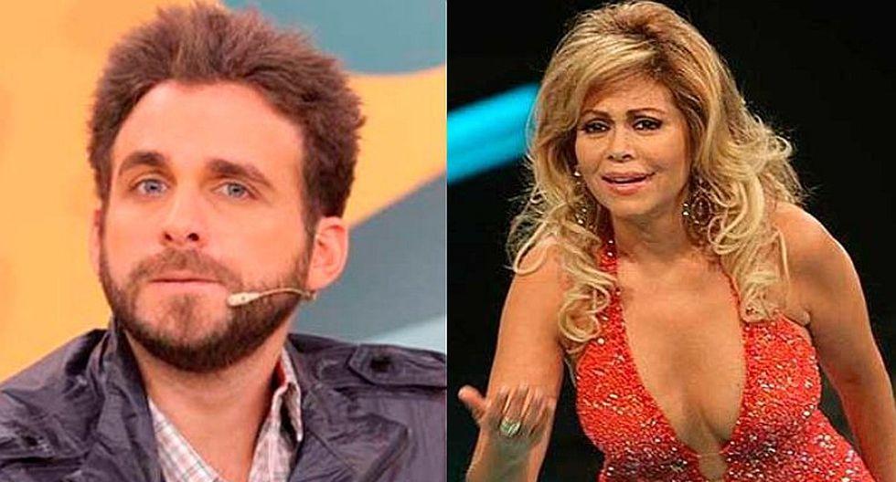 Rodrigo González se indigna por actitud de Gisela Valcárcel [FOTO]
