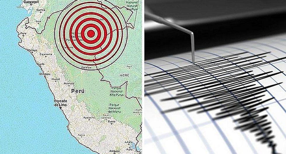 Sismo de magnitud 5.2 se sintió esta tarde en Loreto