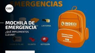 Simulacro en Perú 2021: ¿qué elementos debe contener la mochila para emergencias y cómo prepararla adecuadamente?