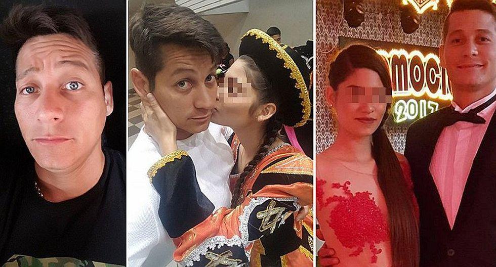 Hija de Luigui Carbajal festeja su fiesta de promoción con hermoso vestido (FOTOS)