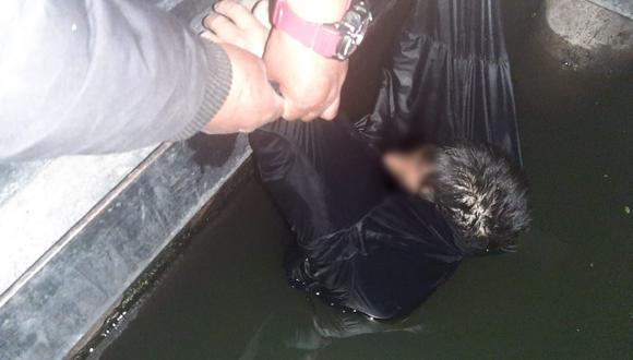 Los agentes ediles lo trasladaron de inmediato al hospital más cercano (Foto: Serenazgo de Puno)