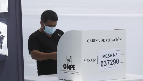La ONPE ha presentado una modificación en el horario del voto escalonado para los adultos mayores. (Foto: ONPE)