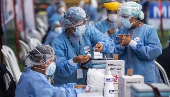 Las personas con esta condición pueden ir a cualquier centro de vacunación a nivel nacional. (Ernesto BENAVIDES / AFP).