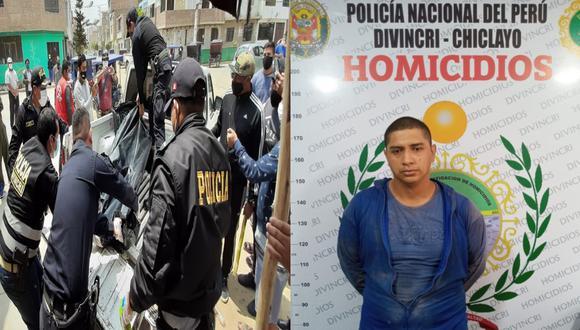 Lambayeque: El ciudadano colombiano Diego Fernando Laos Ordoñez (28) fue detenido por su presunta implicancia en el crimen de su hermano Fabián Arturo Ordoñez Ramírez, quien era curandero (Foto: PNP)