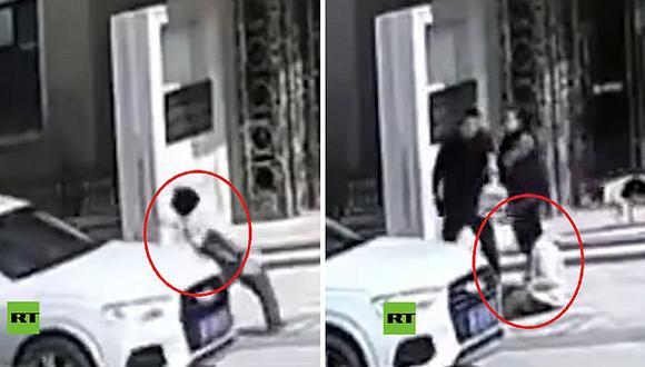 Barrendera es atropellada y en vez de ayudarla, chofer y su esposa le dan golpiza (VIDEO)