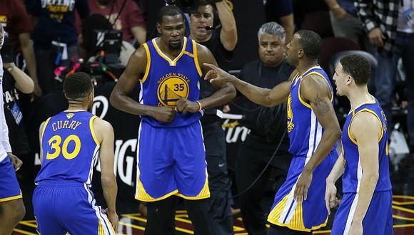 NBA: Warriors buscarán tercer título consecutivo con su equipo reforzado