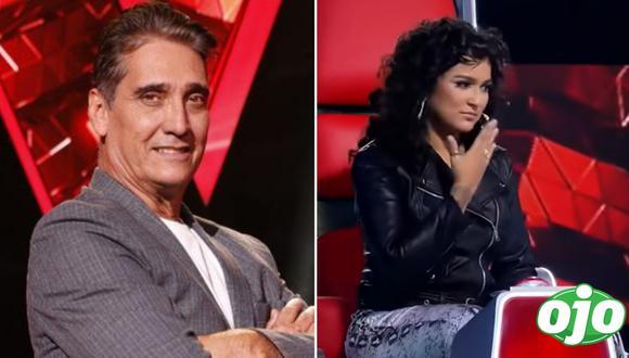 """Guillermo Dávila silencia a Daniela Darcourt por interrumpir a participante en """"La Voz Perú"""""""