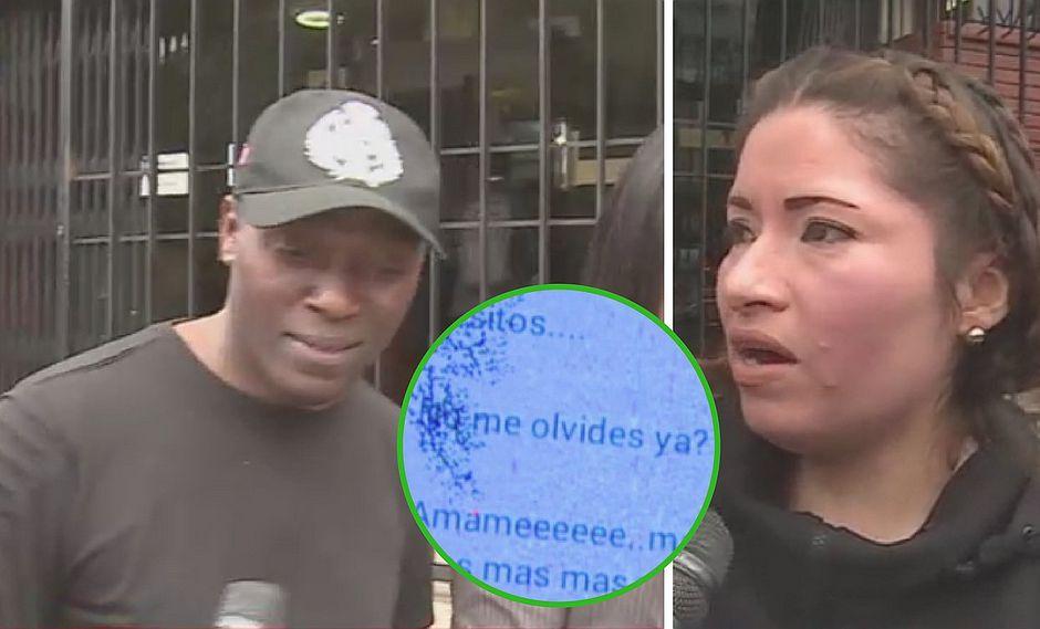 Antonio Cartagena la niega, pero expareja muestra chats de amor (FOTOS)