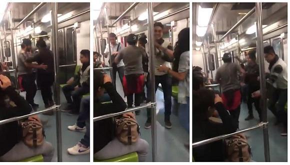 YouTube: jóvenes arman tonazo salsero en metro y video se vuelve viral