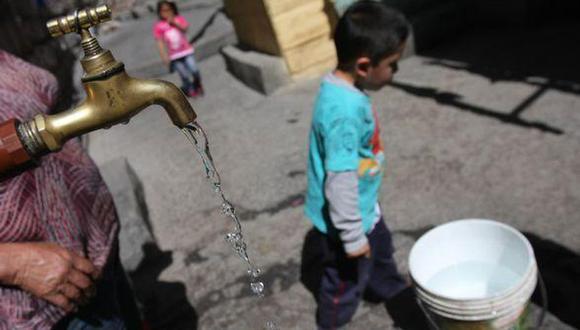 Sedapal anunció el corte de agua en varios sectores de Villa María del Triunfo. (GEC)