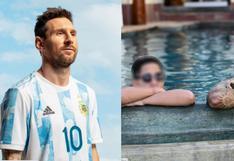 Hijo de Jefferson Farfán comparte foto junto a Lionel Messi