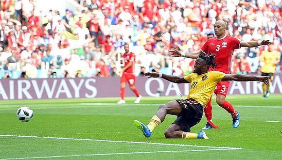 Bélgica goleó 5 a 2 a Túnez y clasificó a octavo de finales en Rusia 2018 (FOTOS)