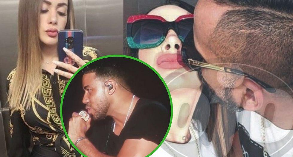 Dorita Orbegoso reaparece y se muestra al lado de su novio en concierto de Romeo Santos (VÍDEO)