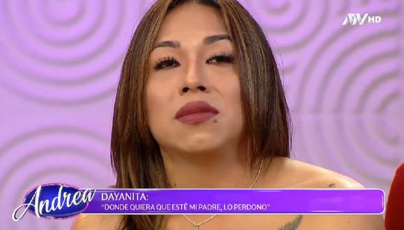 """'Dayanita' se sometió a prueba de ADN en el programa """"Andrea"""" de ATV."""