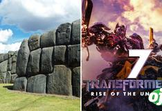 Transformers en Perú: fortaleza de Sacsayhuamán se transformará en un robot