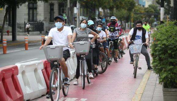 La actividad se desarrollará desde las 7:30 a. m. hasta la 1:00 pm. Durante ese horario, los asistentes podrán usar dichas vías para montar bicicleta, patinar, entre otras actividades. (Fotos: Britanie Arroyo/ @photo.gec/Referencial)