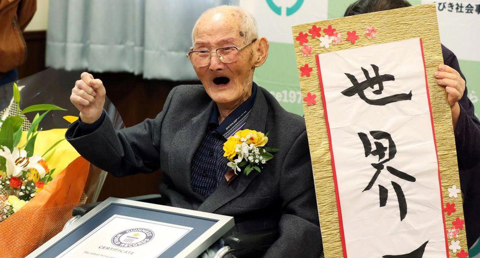 El japonés Chitetsu Watanabe, de 112 años, falleció a los pocos días de haber sido reconocido por la Guinness World Records. (EFE).