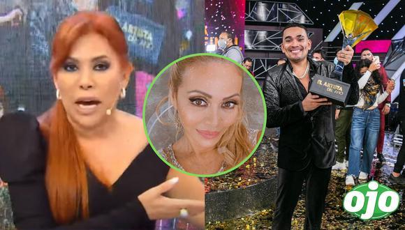 Magaly Medina comentó sobre el triunfo de Josimar en El artista del Año. Fotos y videos: ATV | Instagram Gisela Valcárcel | Instagram Josimar