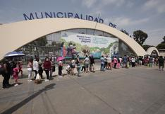 Parque de las Leyendas: Largas colas con niños se registran al ingreso | VIDEO