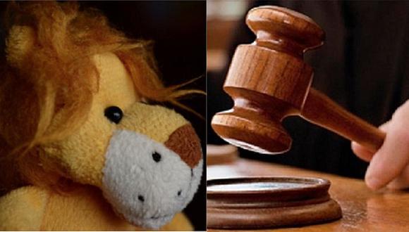 """Pareja en juicio por la custodia de su hija habla con """"Dios"""" a través de un peluche"""