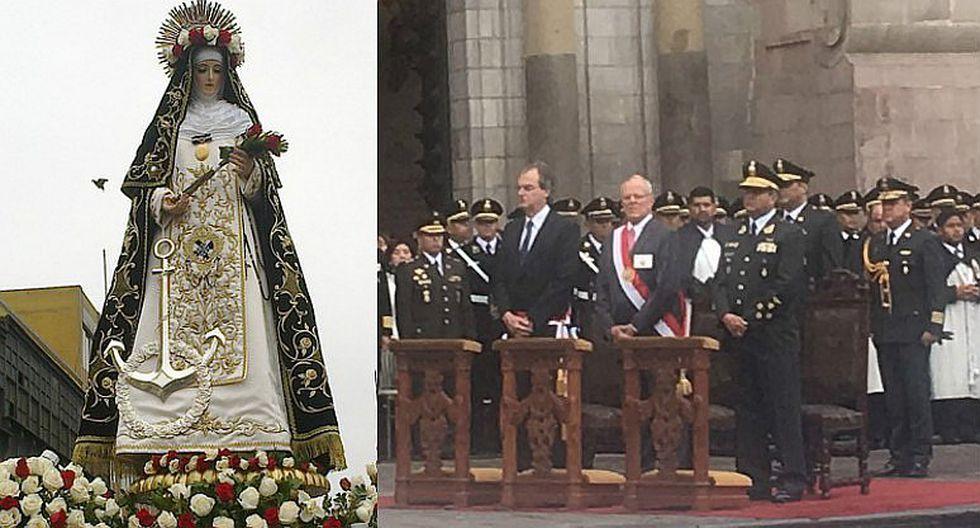 PPK participa en misa de Acción de Gracias en honor a Santa Rosa de Lima [VIDEO]