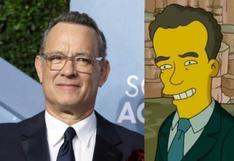 Los Simpson predicen la presencia de Tom Hanks en la asunción presidencial de Joe Biden   VIDEO