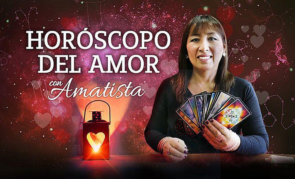 Horóscopo del amor gratis del 11 al 17 de febrero por Amatista (VÍDEOS)
