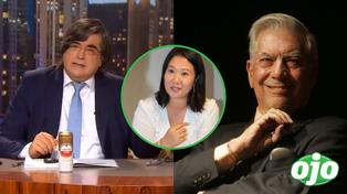 """Jaime Bayly sobre apoyo de Mario Vargas Llosa a Keiko Fujimori: """"es un acto de amor al país"""" │VIDEO"""