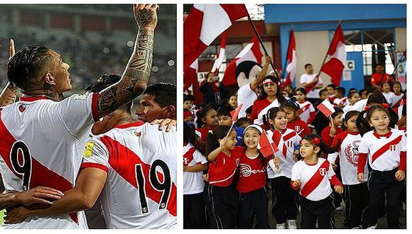 Perú vs. Argentina: colegio alienta a alumnos asistir con camiseta de la selección (FOTOS)