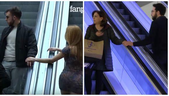 YouTube: ¿Cómo reaccionas si un extraño te toca? [VIDEO]