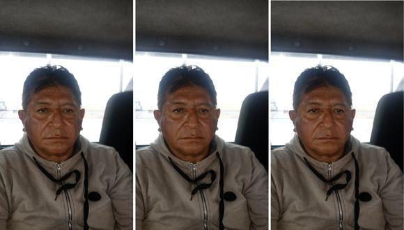 Eduardo Trujillo, ¿Viejo Lucho', el día que fue trasladado desde Huacho hasta la Dirincri en Lima, (Captura de video)