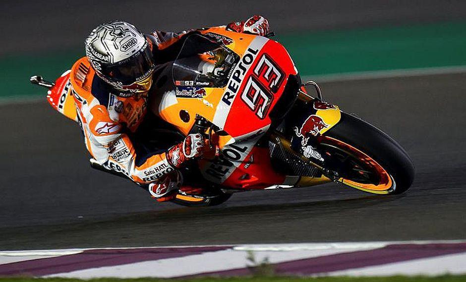 MotoGP: Marc Márquez llora porque se equivocó al elegir una llanta