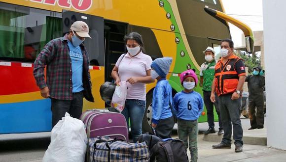 El Ministerio de Salud y el Ministerio de Transportes han establecido un protocolo que debe ser cumplido por empresas de transporte, choferes, operadores de terminales y pasajeros. (Foto: Andina)