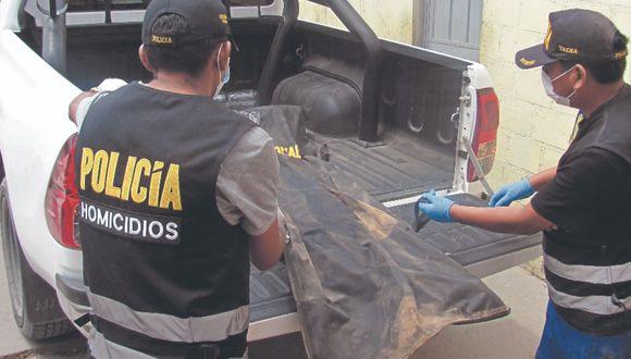 Tacna: Halla cuerpo de hombre enterrado en cerro Arunta, en el distrito de Calana.