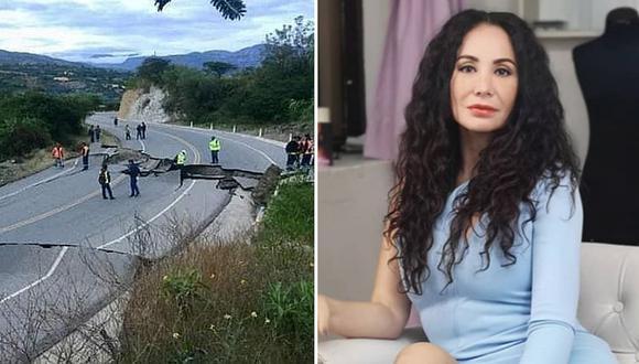 Janet Barboza revela los minutos de terror que vivió durante terremoto en Loreto
