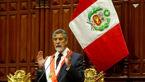Presidente Francisco Sagasti confirmó participación en el Foro APEC. (Foto: Presidencia)