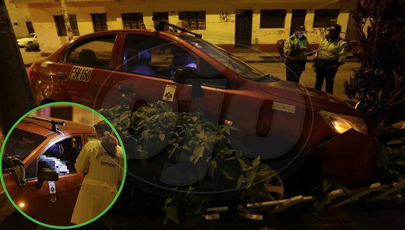 Taxista fue asesinado de un disparo en la cabeza por rateros que se hicieron pasar como pasajeros (FOTOS)