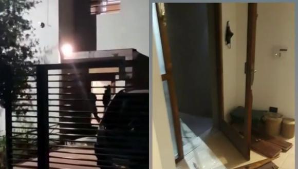 Un video viral muestra los estragos que ocasionó un allanamiento policial equivocado a la casa de un funcionario público creyendo que era la guardia de unos delincuentes. | Crédito: Telenueve / YouTube