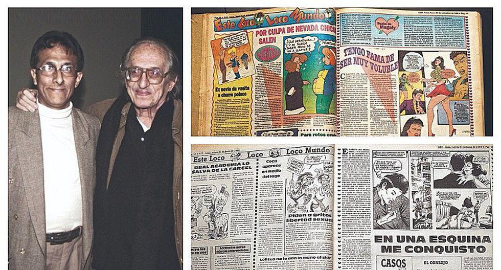 Loco Mundo y Magaly Moro, el ADN de Diario Ojo en estos 50 años