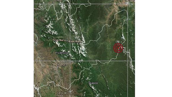 Sismo de 5.3 grados asusta a población de Huánuco