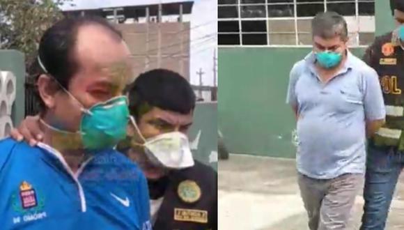 La Libertad: Detienen a dos funcionarios de la municipalidad provincial de Chepén por extrañas compras de alimentos para canastas.