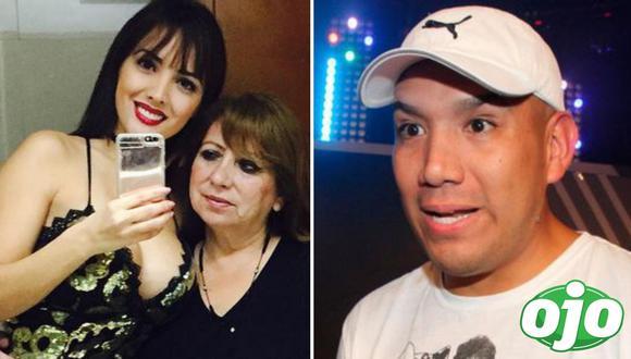 Peter Fajardo arremete contra la mamá de Rosángela. Foto: (redes sociales).