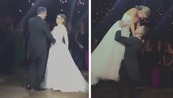 Voraz incendio termina con boda cuando novios bailaban (VIDEOS)