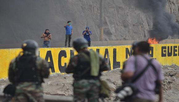 Manchay: Nueve detenidos tras protestas de pobladores