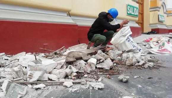 """""""El sismo (en Piura) ha sido de una profundidad media, esto disminuye la probabilidad de daños mayores y tampoco provocan una alerta de tsunami"""", expresó el geólogo, Jorge Capuñay. (Foto: Carlos Chunga)"""