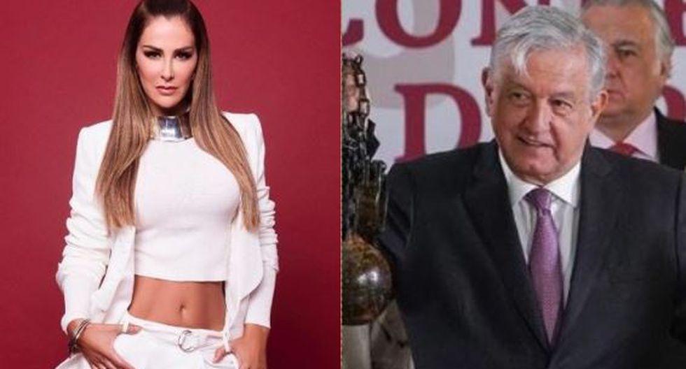 Ninel Conde pide a López Obrador ayuda para recuperar a su hijo (Foto: Instagram)