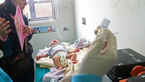 Más del 43% de niños menores de 3 años tienen anemia