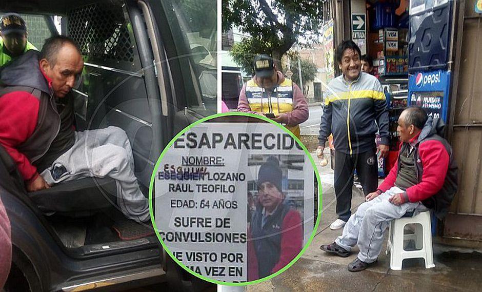 Encuentran en Lince a abuelo con lesión cerebral que desapareció en Yerbateros | VIDEO