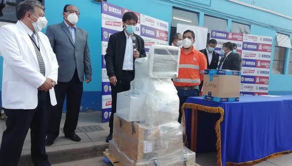Diresa recibió 50 balones de oxígeno y pruebas rápidas para atender a pacientes COVID-19 (Foto difusión).