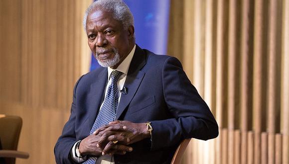 Falleció Kofi Annan, exsexcretario general de la ONU y premio Nobel de la Paz